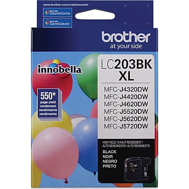 Brother LC-203BKS (LC203BKS) High Yield Black Ink Cartridge