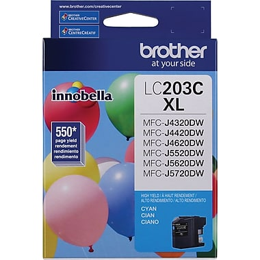 Brother LC-203CS (LC203CS) Hi Yield Cyan Ink Cartridge