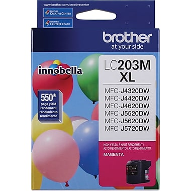Brother LC-203MS (LC203MS) Hi Yield Magenta Ink Cartridge