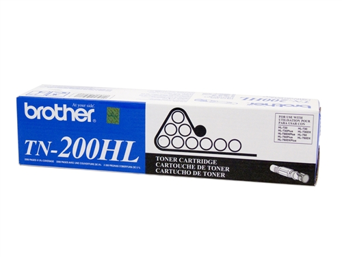 Brother TN200 (TN200HL) Black Toner Cartridge
