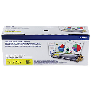 Brother TN-225Y (TN225Y) Yellow Toner Cartridge