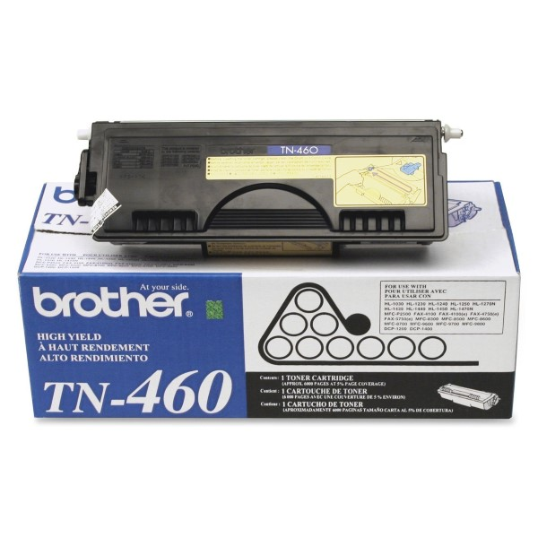 Brother TN-460 Black Toner Cartridge