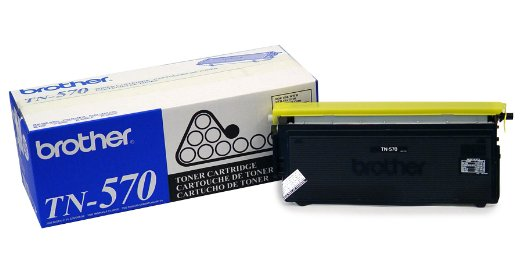 Brother TN-570 Black Toner Cartridge - High Yield
