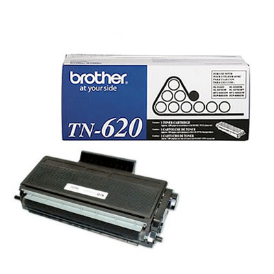 Brother TN-620 Black Toner Cartridge (TN-620)