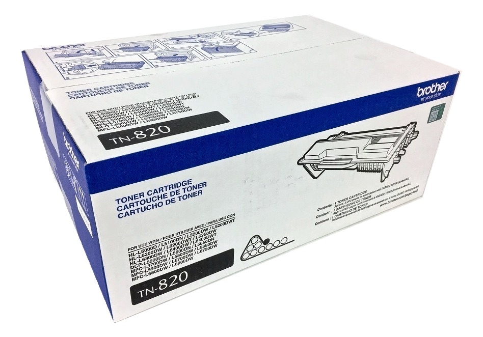 Brother TN-820 (TN820) Black Toner Cartridge