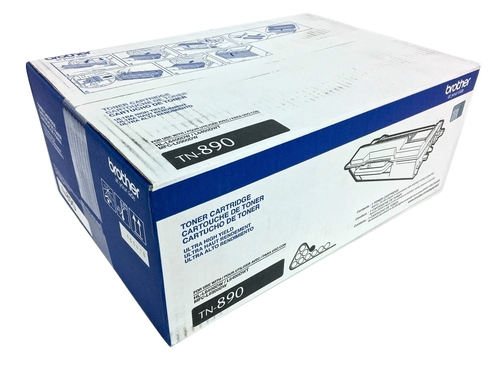 Brother TN-890 (TN890) Ultra High Yield Black Toner Cartridge