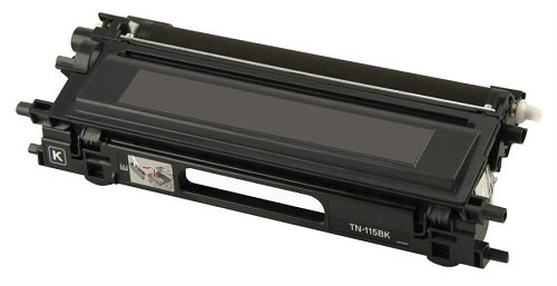 Compatible Brother TN-115BK Black Toner Cartridge - High Yield