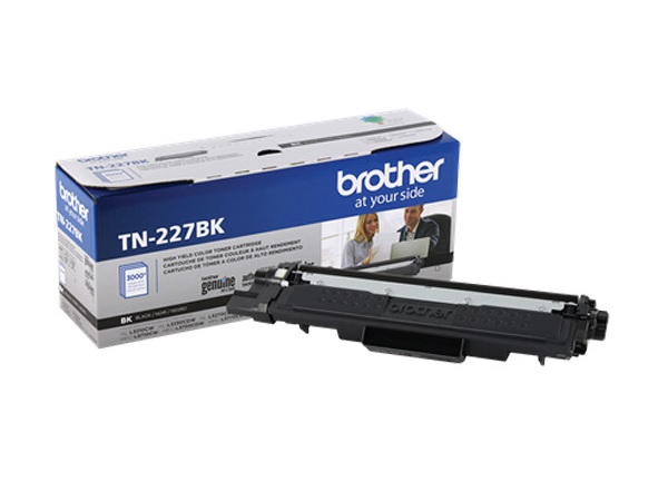 Brother TN-227BK Black High Yield Toner Cartridge
