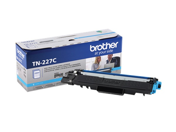 Brother TN-227C Cyan High Yield Toner Cartridge