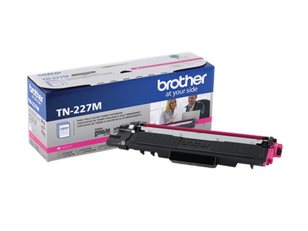 Brother TN-227M Magenta High Yield Toner Cartridge