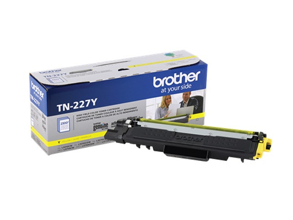 Brother TN-227Y Yellow High Yield Toner Cartridge