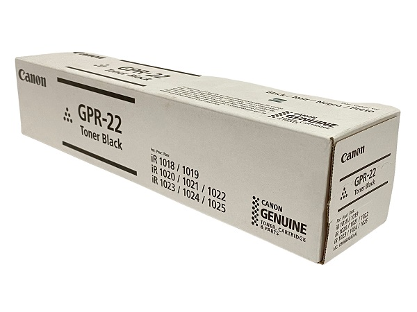 Canon 0386B003AA (GPR-22) Black Toner Cartridge