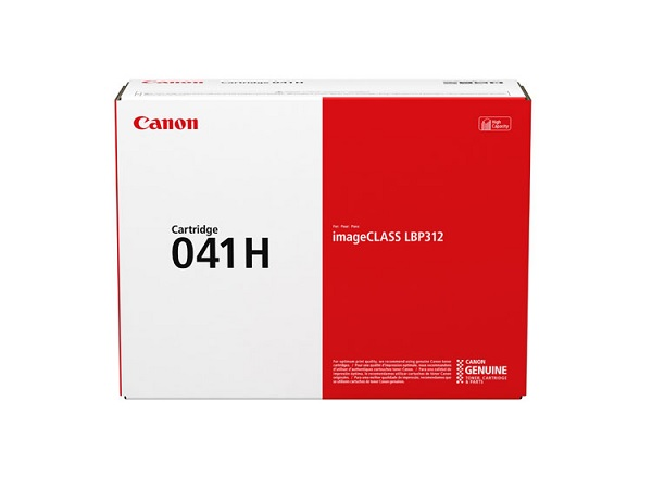 Canon 0453C001 (041H) Black High Yield Toner Cartridge
