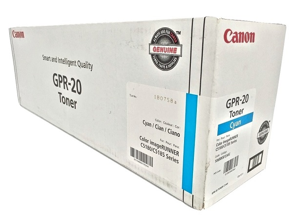 Canon 1068B001AA (GPR-20) Cyan Toner Cartridge - High Yield