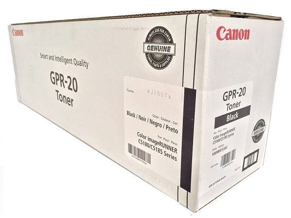 Canon 1069B001AA (GPR-20) Black Toner Cartridge - High Yield