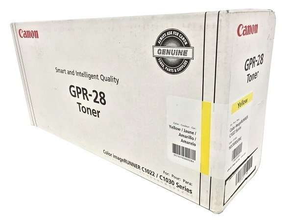 Canon 1657B004AA (GPR-28) Yellow Toner / Drum Cartridge