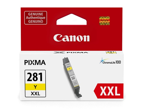Canon CLI-281 XXL (1982C001) Yellow Ink Tank