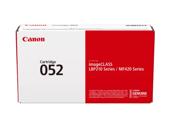 Canon 2199C001 (052) Black Standard Yield Toner Cartridge