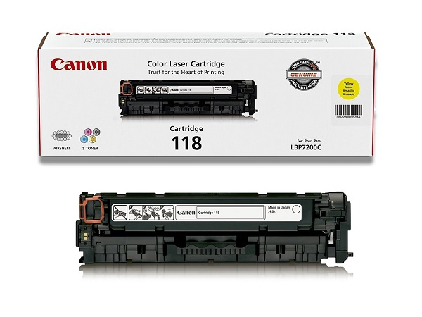 Canon 2659B001AA (Cartridge 118) Yellow Toner Cartridge