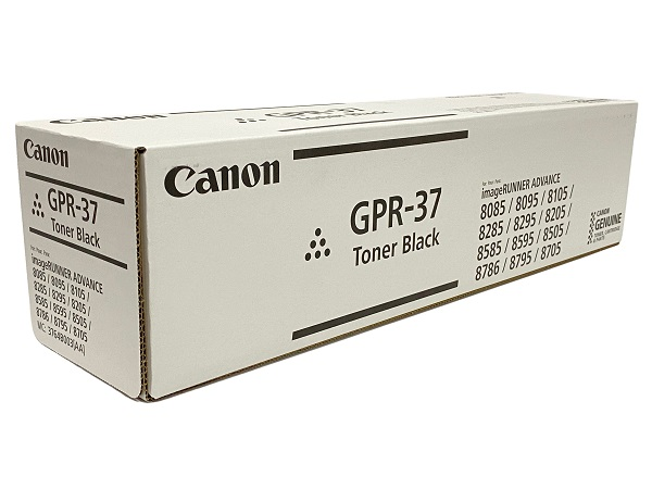 Canon 3764B003AA (GPR-37) Black Toner Cartridge