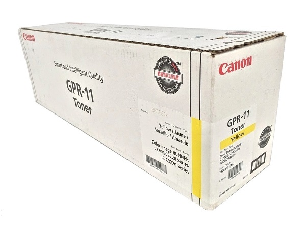 Canon 7626A001AA (GPR-11) Yellow Toner Cartridge