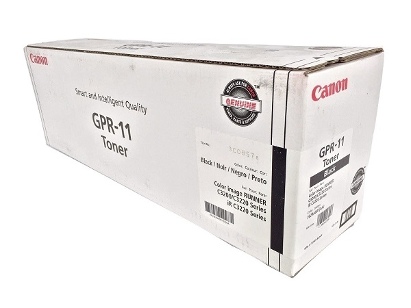 Canon 7629A001AA (GPR-11) Black Toner Cartridge