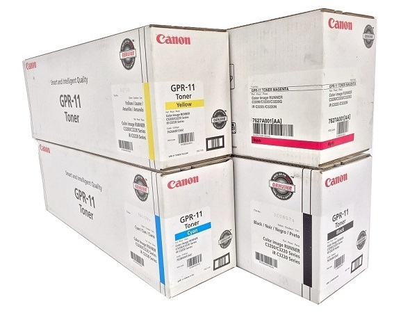 Canon GPR-11 Complete Toner Cartridge Set (GPR11)