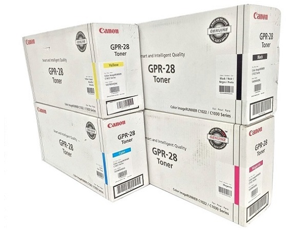 Canon GPR-28 Complete Toner Cartridge Set (GPR28)
