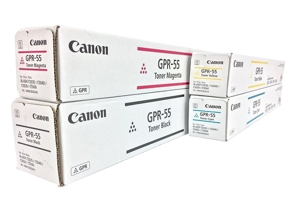 Canon GPR-55 Complete High Capacity Toner Cartridge Set
