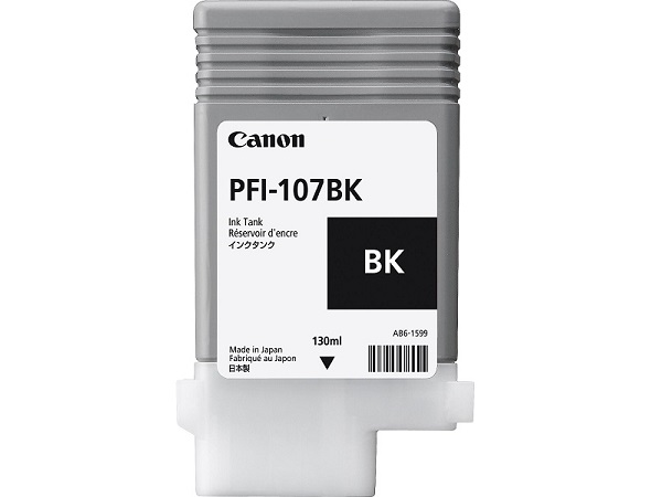 Canon PFI-107BK Black Ink Tank