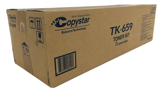 Copystar TK-659 (TK659) Black Toner Cartridge