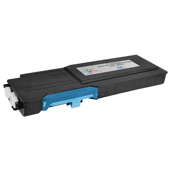 Compatible Dell 1M4KP (331-8432) Cyan Extra High Yield Toner Cartridge