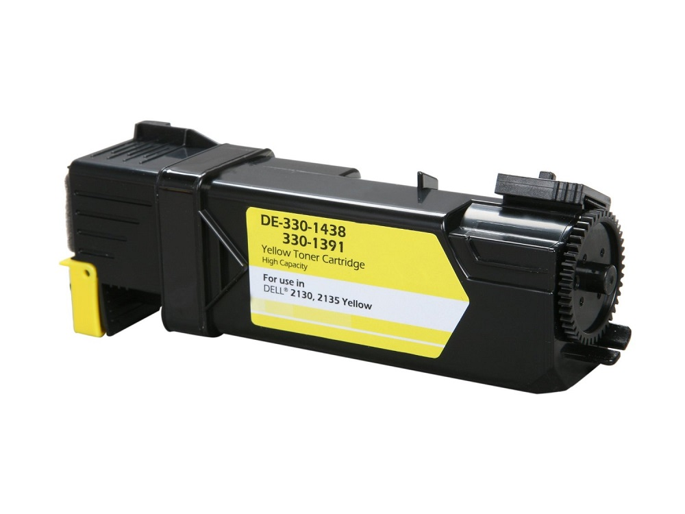 Compatible Dell 330-1391 (330-1438) Yellow Toner Cartridge - High Yield