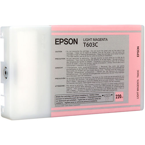 Epson T603C00 Light Magenta Ink Cartridge