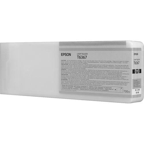 Epson T636700 Light Black 700ml Ink Cartridge
