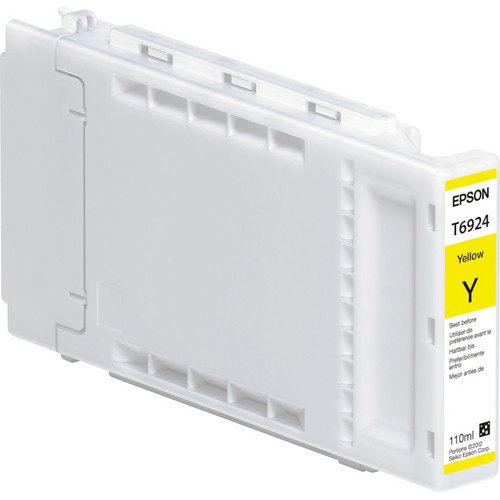 Epson T692400, 110 ml Yellow UltraChrome XD Ink Cartridge
