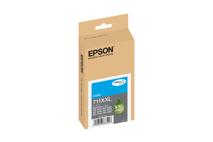Epson T711XXL220 High Yield Cyan Ink Cartridge