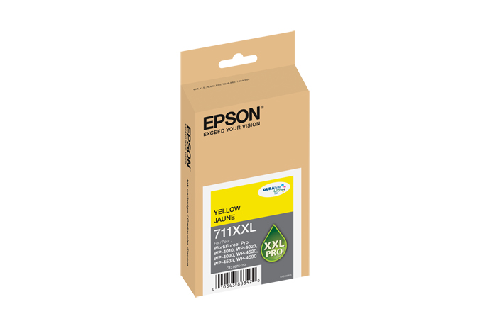 Epson T711XXL420 High Yield Yellow Ink Cartridge
