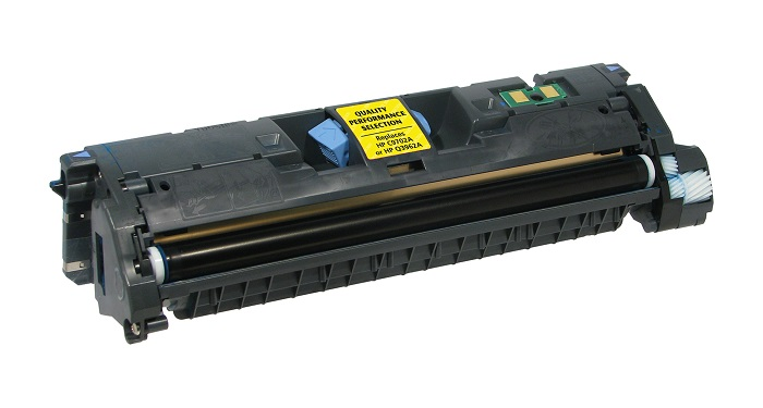 Compatible HP C9702A (121A) Yellow Toner Cartridge