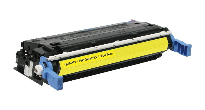 Compatible HP C9722A (641A) Yellow Toner Cartridge