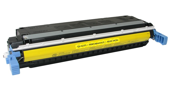 Compatible HP C9732A (645A) Yellow Toner Cartridge