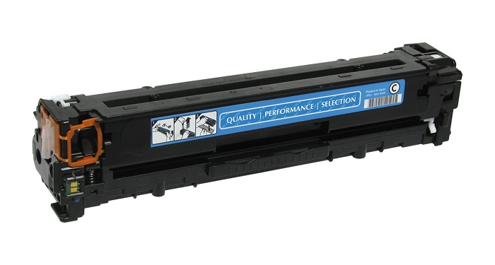 Compatible HP CB541A (125A) Cyan Toner Cartridge