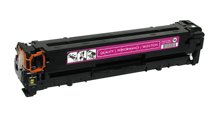 Compatible HP CB543A (125A) Magenta Toner Cartridge