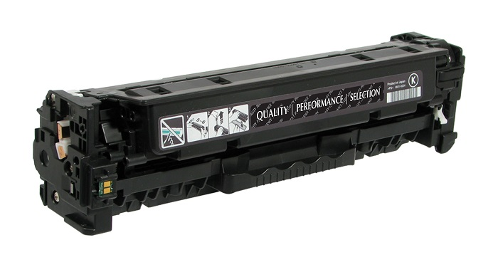 Compatible HP CC530A (304A) Black Toner / Drum Cartridge