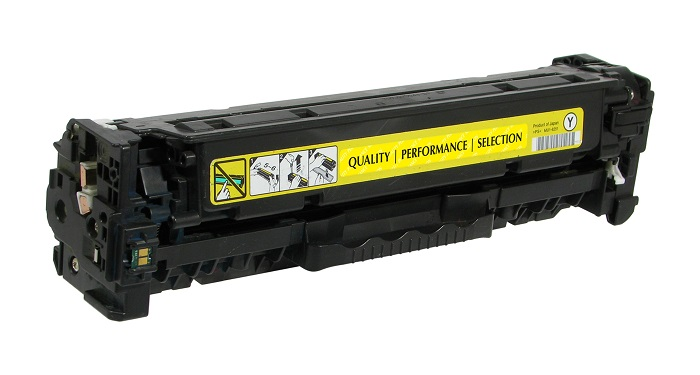 Compatible HP CC532A (304A) Yellow Toner / Drum Cartridge