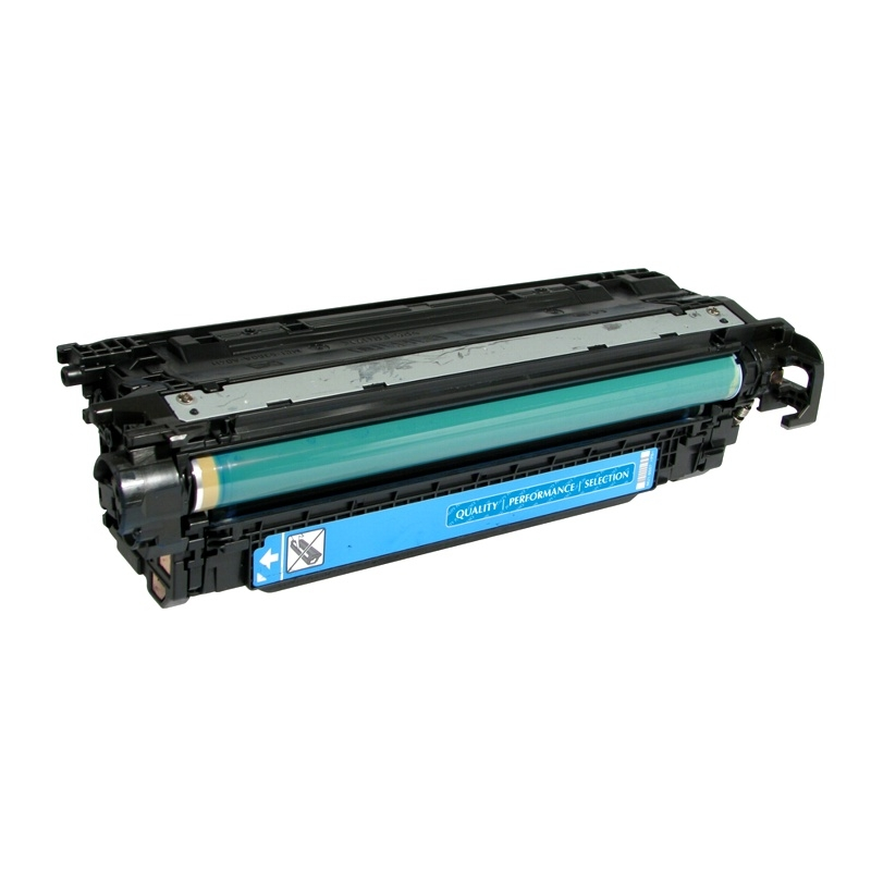 Compatible HP CE251A (504A) Cyan Toner Cartridge