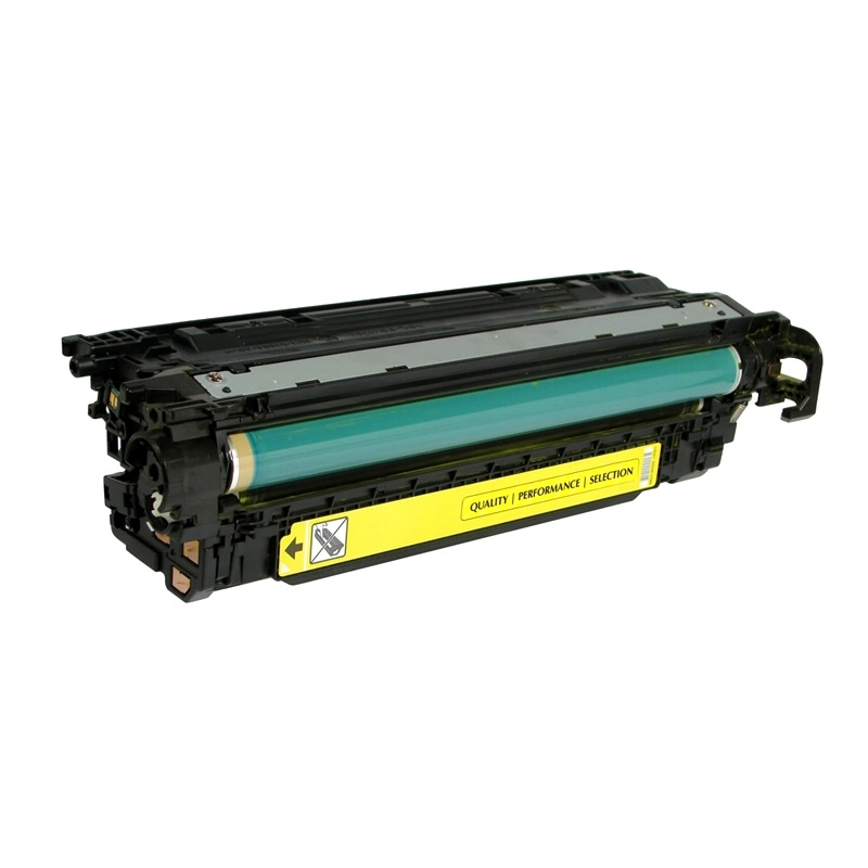 Compatible HP CE252A (504A) Yellow Toner Cartridge