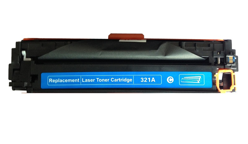 Compatible HP CE321A (128A) Cyan Toner Cartridge