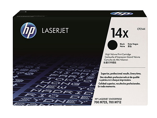 HP CF214X (14X) Black High Yield Toner Cartridge