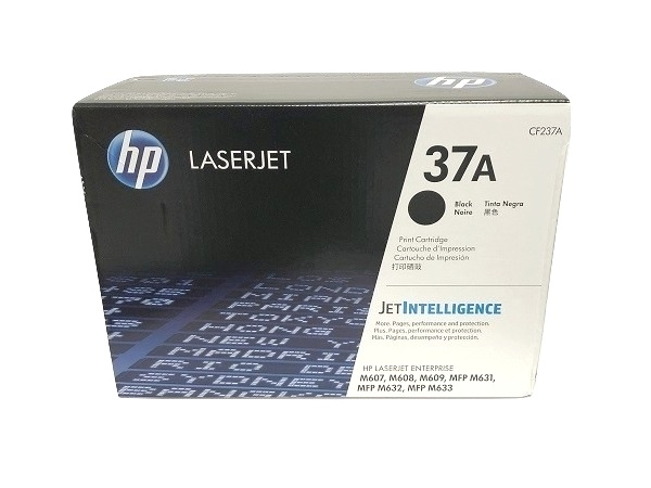 HP LaserJet 37A Black Toner Cartridge (CF237A)